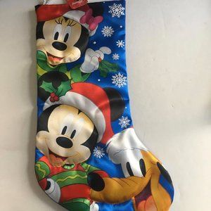 NWT- Mickey Mouse and Friends Christmas Stocking